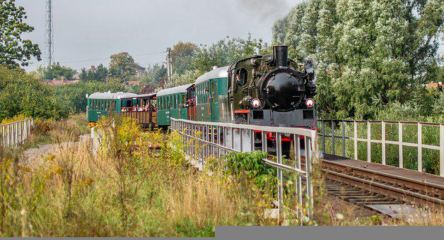Train, Locomotive, Railway, Steam Locomotive
