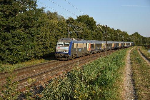 Train, Railroad, Rural, Countryside