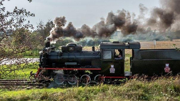 Train, Locomotive, Steam Locomotive
