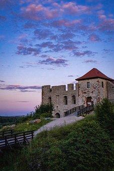 Castle, Fortress, Citadel, Architecture, Stoneworks