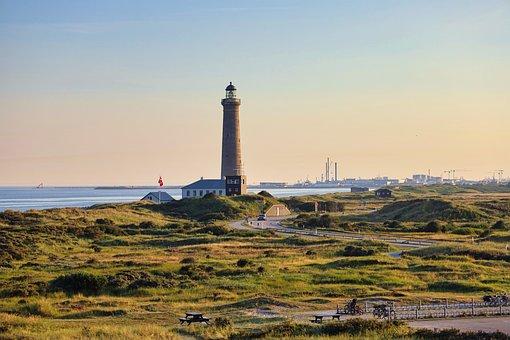 Lighthouse, Landmark, Coast, Tower, Coastline, Seaside