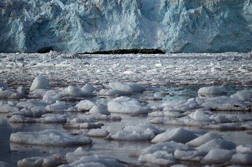 Glacier, Ice, Antarctica, Rubble, Cold, Nature