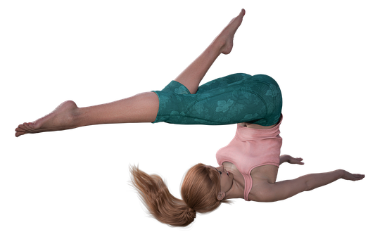 Woman, Yoga, Pose, Girl, Avatar, Female, Stretching