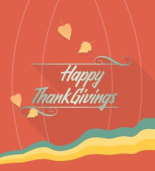 Leaves, Foliage, Thanksgiving