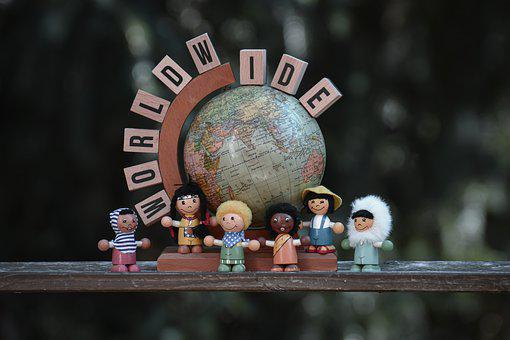 Children, World, Globe, Planet