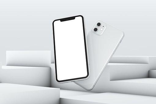 Iphone 11, 3d, Mockup, Iphone 3d Mockup, Icon