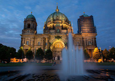 Architecture, Church, Fountain, Building, Old Church