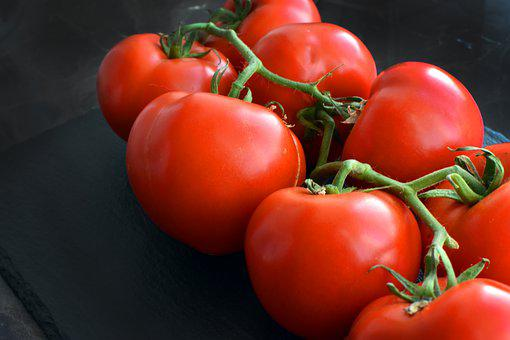 Tomatoes, Red Tomatoes, Fresh, Produce, Harvest
