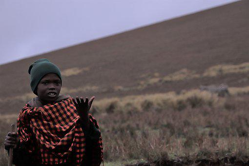African, Boy, Safari, Maasai, Africa, Child