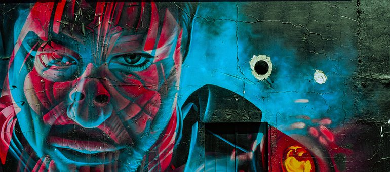 Graffiti, Wall, Urban, Painting, Artistic, Grunge