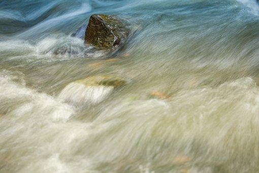 Torrent, Rapids, Cascading, River, Water, Waterfalls