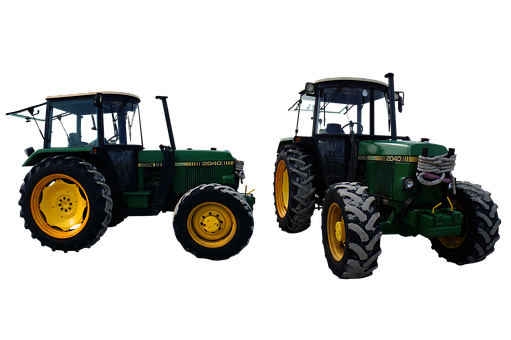 Tractor, Agriculture, Vehicle, Machine, Icons