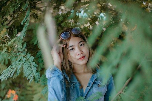 Portrait, Girl, Model, Woman, Asian