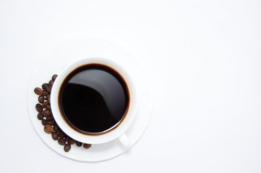A Cup Of Coffee, Coffee Beans, Coffee, The Drink