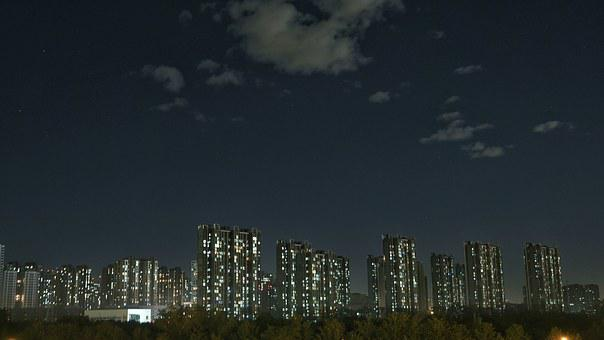 Architecture, Apartments, Residential, Scenery