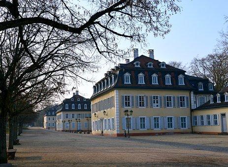 Park, Wilhelmsbad, Kurpark, Hanau, Autumn