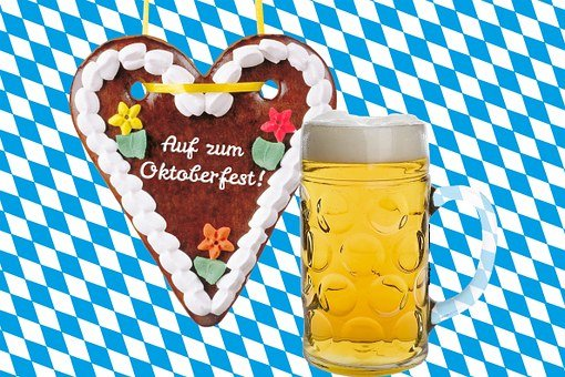 Gingerbread Heart, Heart, Beer, Beer Mug, Measure