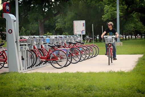 Bicycling, Bike Share, Texas, Transport, Transportation
