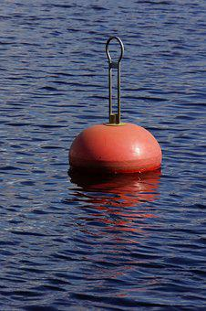 Buoy, Boat Mooring, Boating, Water, Floating In The