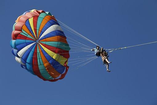 Parachute, Sun, Brave, Into Different Colors, Sports