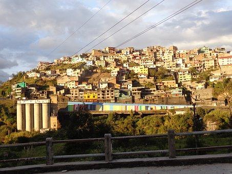 Hill, Quito, Ecuador, Capital, Pichincha, Cityscape