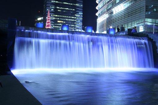 Cheonggyecheon Stream, Waterfall, Chapter Impressions
