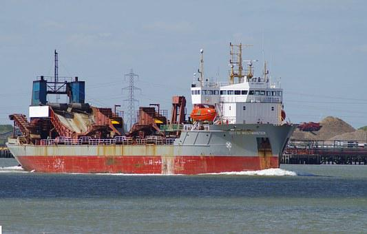 Suction Dredger, Ship, City Of Westminster, Industry