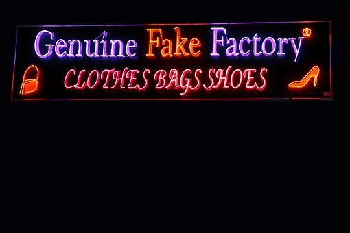 Genuine, Fake, Factory, Shop, Clothes, Bags, Shoes