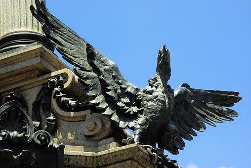Ecuador, Quito, Bronze, Condor, Statue, Symbol, Freedom
