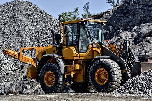 Digger, Machine, Machinery, Construction, Loader