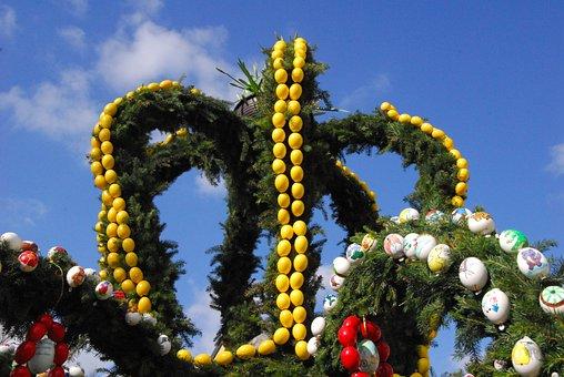 Easter Well, Easter, Easter Eggs, Easter Tradition