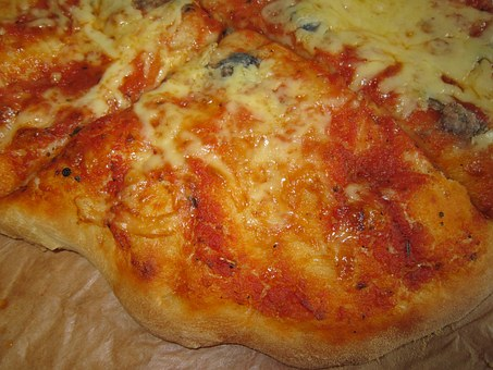 Pizza, Bake, Eat, Food, Delicious, Cheese, Preparation