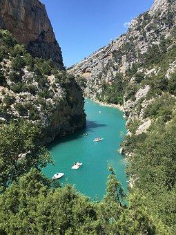 Lac Saint Croix, Gorges Du Verdon, France, Nature