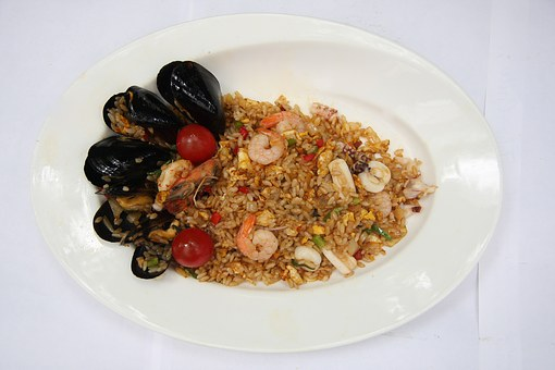 Seafood Pilaf, Cooking, Fusion Cuisine