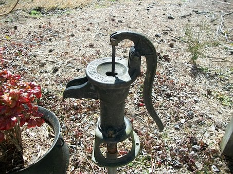 Hand Pump, Water, Pump, Hand Wells, Handle, Manual