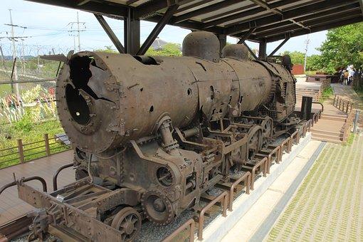 Paju, Imjingak Park, Tune Station Steam Locomotive