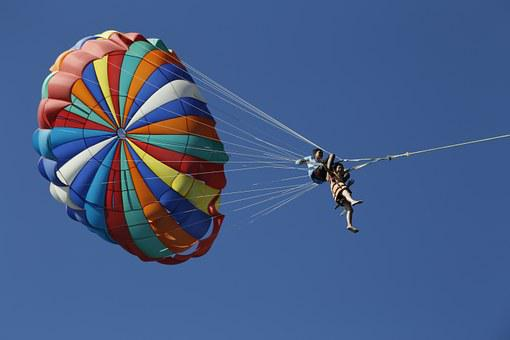 Parachute, Sun, Brave, Into Different Colors, Sports