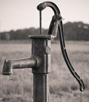 Water, Hand Pump, Water Pump, Pump, Garden, Irrigation