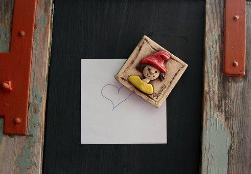 Fridge Magnet, Magnet, Ceramic, Kitchen, Helper, Image