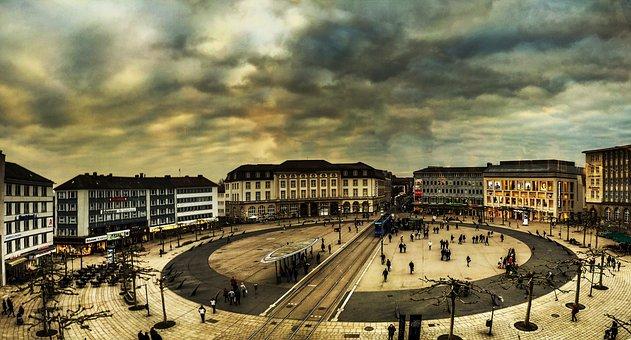 Kassel, Königsplatz, Downtown, Königsplatz Kassel