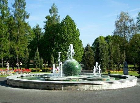 Kurpark, Park, Piestany, Slovakia