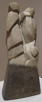 Birds, Erect, Henri, Gaudier, Limestone, Sculptures