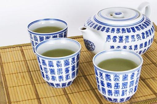 Traditional, Green, Tea, Maker, Glazed, Asian, Healthy