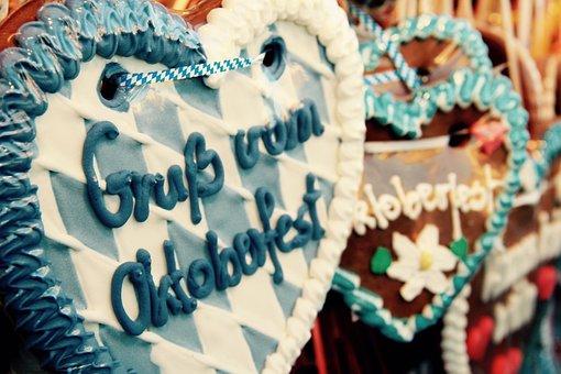 Oktoberfest, Munich, Heart, Folk Festival