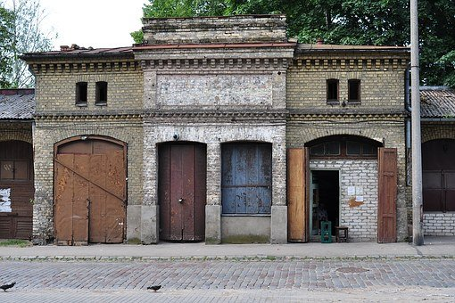 Riga, Ghetto, Eastern Europe, Old Building