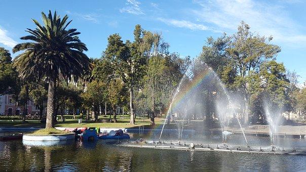 Alameda, Quito, Ecuador, Quito Ecuador, Pool