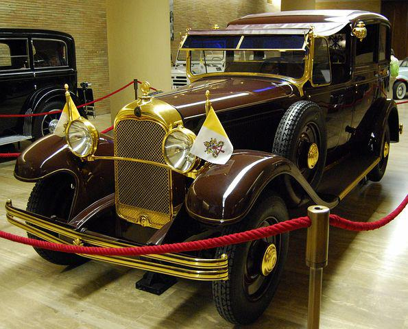 Popemobile, Auto, Pope, Vatican, Ancient, Old, Vintage