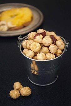 Hazelnuts, Food, Mystic Light, Product Photography