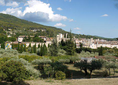 Old Village, Provence, Aups, Picturesque, Old Town