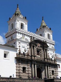 Ecuador, Quito, Church, Catholic, Monument